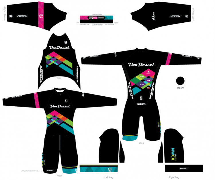 The new kits from the Northwest Women's Cyclocross Project