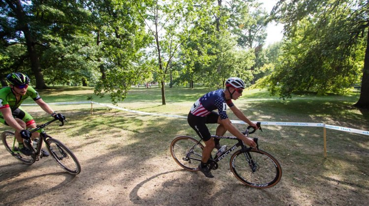 Powers and Hyde sprinted for the win at 2016 Rochester Cyclocross Day 2