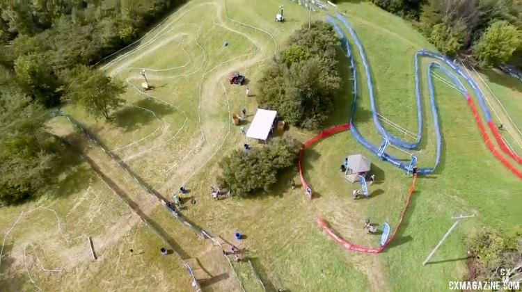 2016 Jingle Cross World Cup course by air