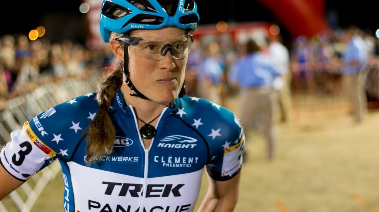 Katie Compton's Trek Boone at CrossVegas 2016 and JingleCross. © A. Yee / Cyclocross Magazine