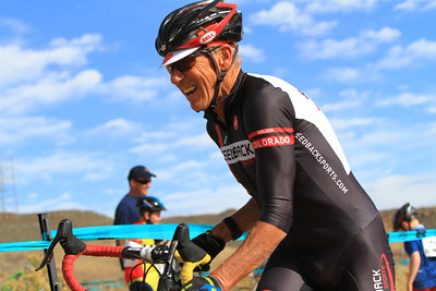 Yes, smiling during a cross race is allowed (and encouraged).