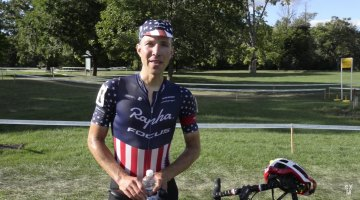 Jeremy Powers interview - Day 2 Rochester Cyclocross