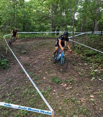 """The 2016 Rochester Cyclocross UCI Weekend has plenty of vertical and some """"natural"""" barriers to add intrigue. photo: courtesy"""