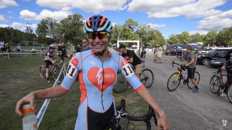 Rebecca Fahringer - 2016 Rochester Cyclocross Day 2 Interview