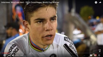 Interview: Wout van Aert - 2016 CrossVegas World Cup
