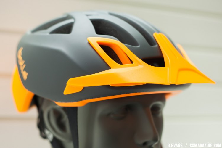 Bollé had their new One Mountain helmet on display at Interbike 2016. The helmet includes a handful of accessories and retails for 129.99 USD. © Cyclocross Magazine
