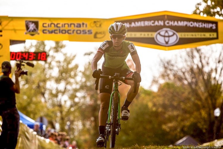 Kaitie Antonneau has a history of success at the Pan American Cyclocross Championships.