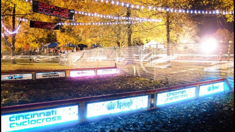 Kings CX puts on the best show in town with its iconic, cant-miss lit barriers.