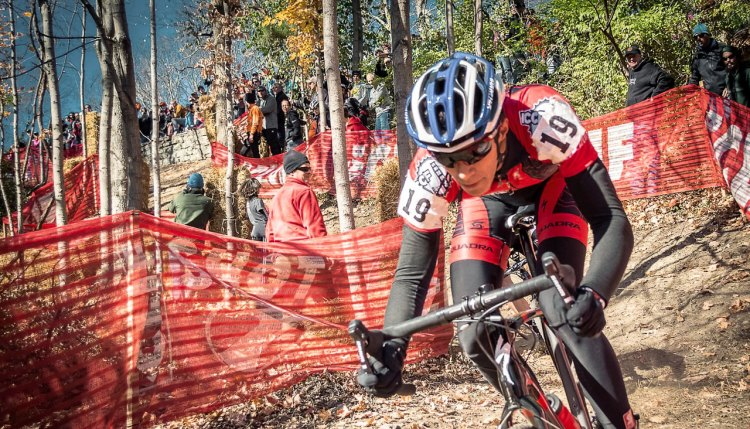 Devou park offers plenty of technical challenges for amateurs and pros alike.