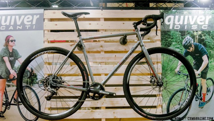 The Quiver Disc is available as a complete bike with SRAM Rival 1x11 for $1,350 USD. © C. Noble / Cyclocross Magazine