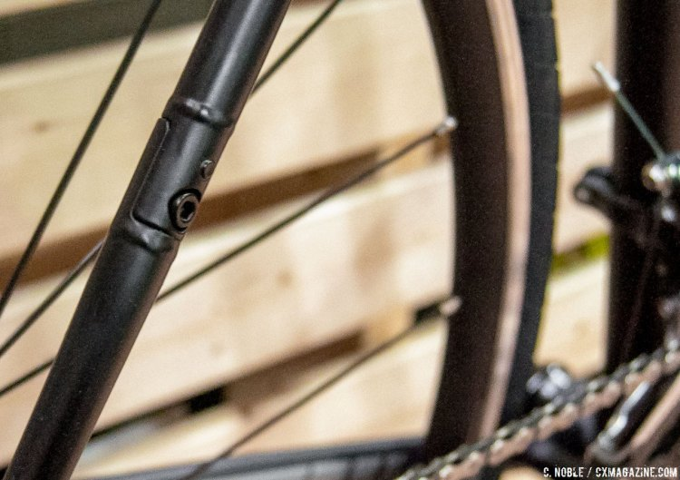 The Quiver Canti is belt-drive compatible. © C. Noble / Cyclocross Magazine