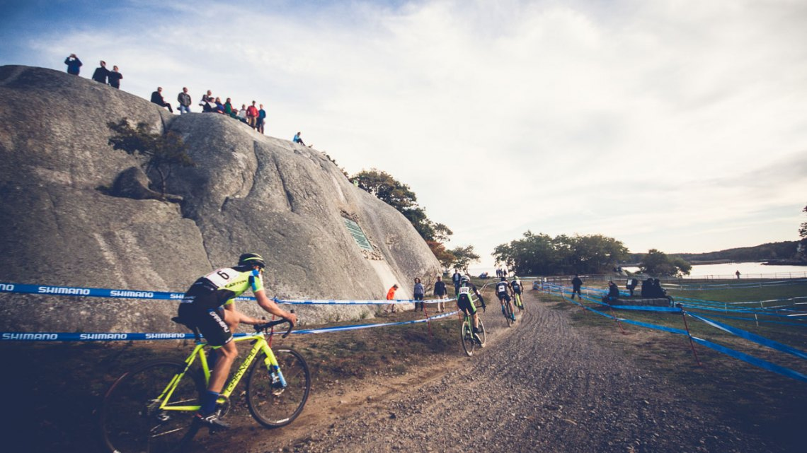 Stage Fort Park is one of the most iconic cyclocross venues in the Northeast. 2016 GP of Gloucester Day 1. photo: Angelica Dixon