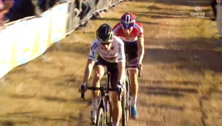 2016 Superprestige Zonhoven Elite Men - Wout van Aert vs. Mathieu van der Poel