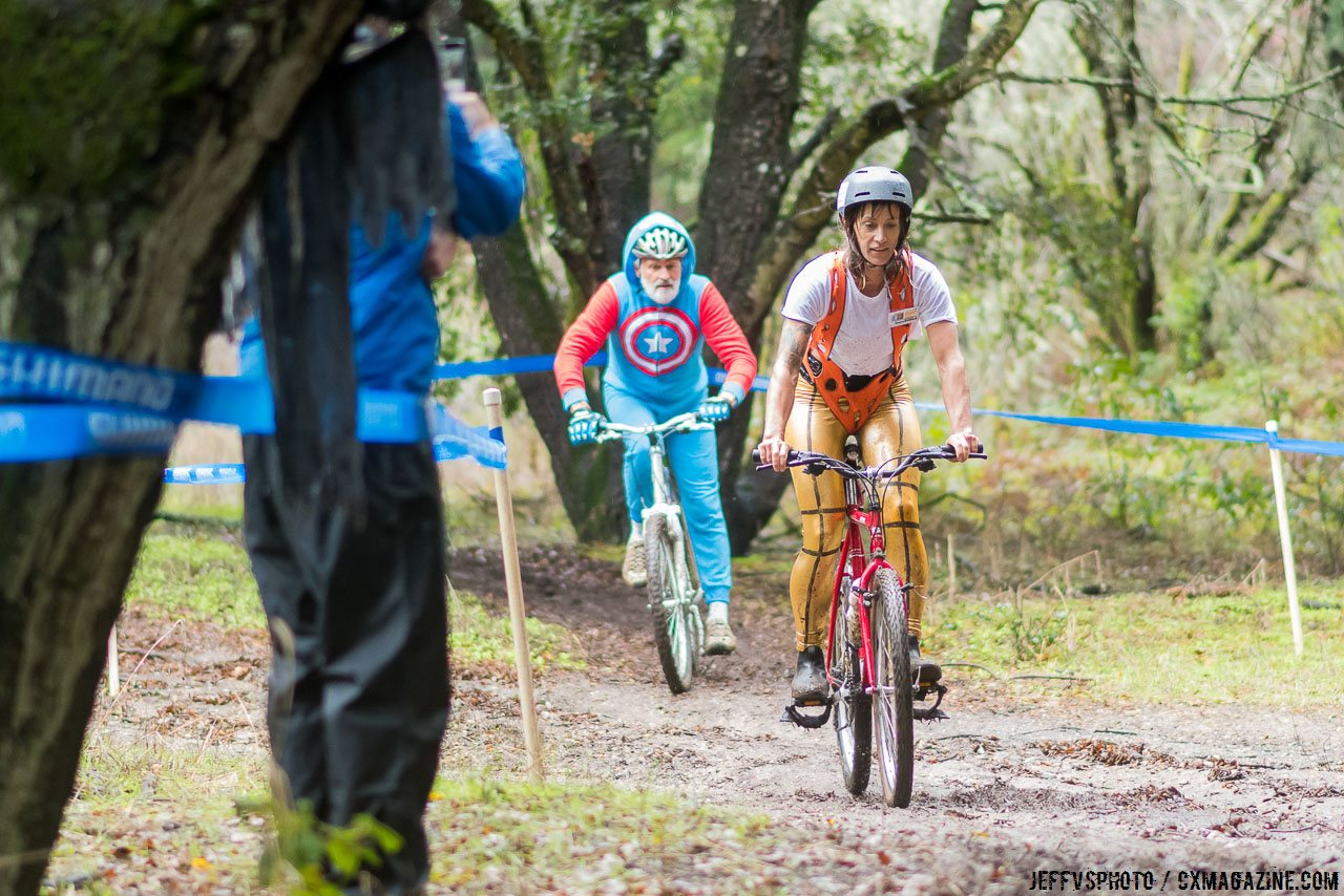 Leeloo Dallas and Captain America. 2016 Surf City Cyclo-X Series, Aptos High. © Jeff Vander Stucken