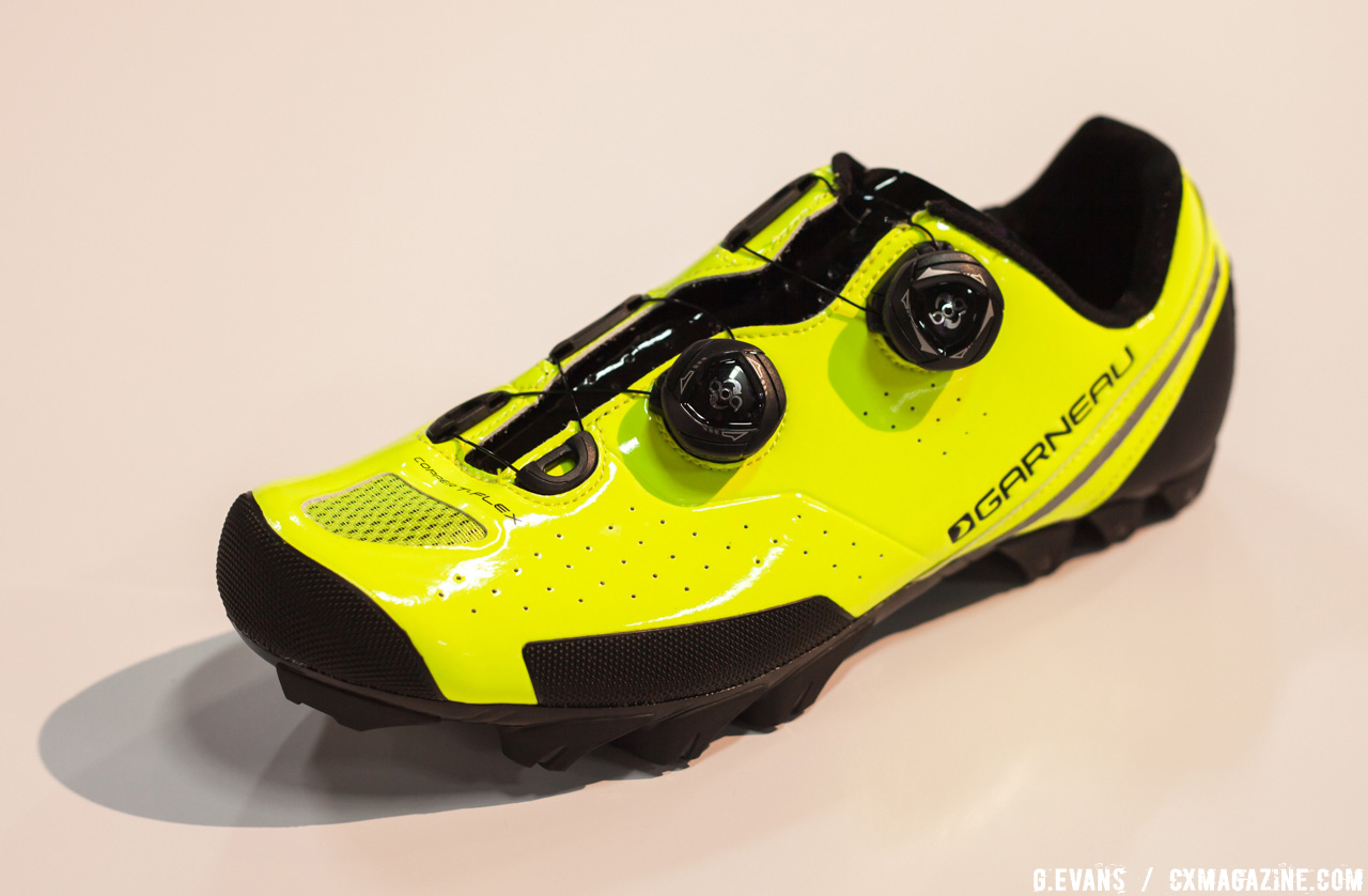 Garneau was showing off its latest off-road shoe offering, the Copper T-Flex, which will be available in November with a retail price of $325 USD. © Cyclocross Magazine