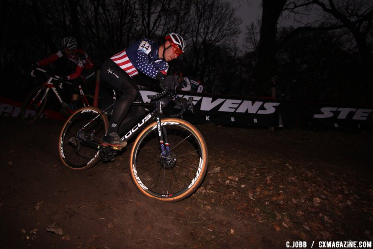 Jeremy Powers at the 2016 Zeven World Cup. © C. Jobb / Cyclocross Magazine