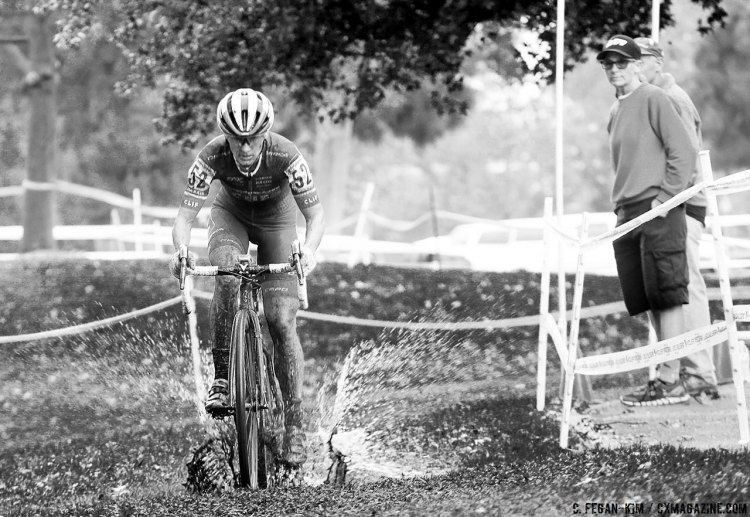 Nash make a splash at CXLA with back-to-back wins. 2016 CXLA Day 2. © Cathy Fegan-Kim / Cyclocross Magazine