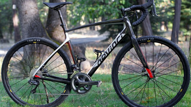 The Devinci Hatchet Carbon was our guide in the California Sierra, and is in shops now. 2017 Devinci Hatchet Carbon gravel bike. © Cyclocross Magazine