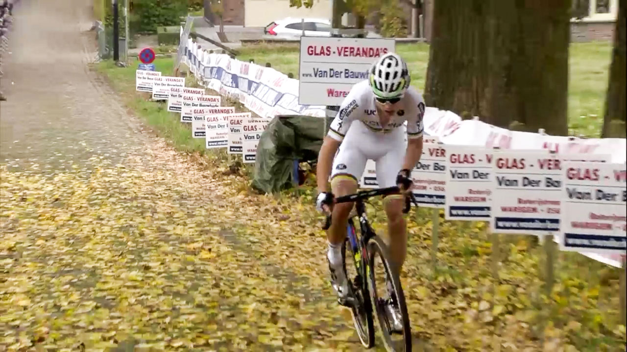 Wout van Aert goes solo to win the 2016 Koppenbergcross - DVV Verzekeringen Trofee #2