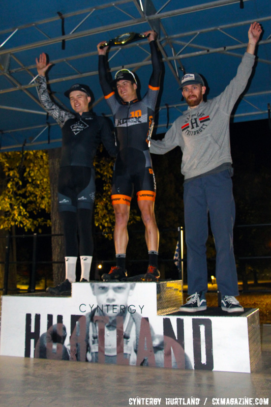 Another shot of the C2 Elite Men's podium at the 2016 Cyntergy Hurtland event. © Cyntergy Hurtland