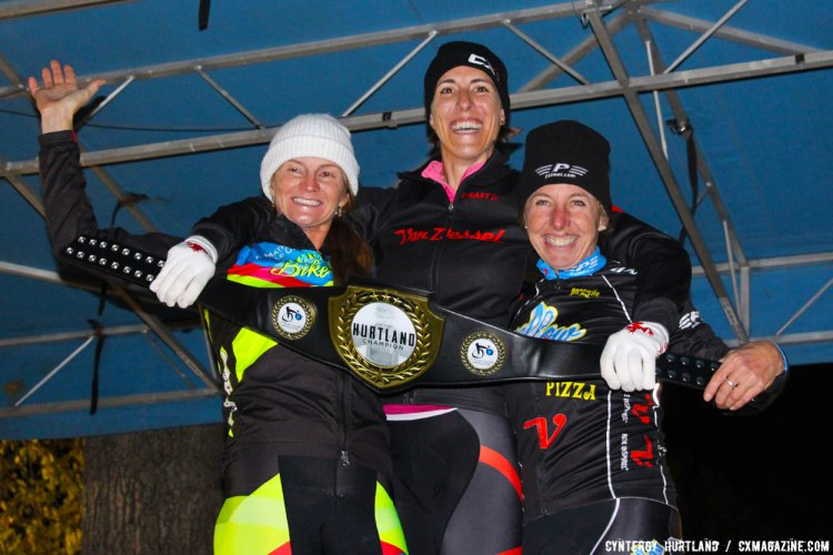 In the C2 Elite Women's race, Sunny Gilbert (Michelob Ultra/Big Shark) beat Christina Gokey-Smith (Matrix/RBM) by 25 seconds across the line. Laura Van Gilder (Mellow Mushroom Pizza Bakers) was third. © Cyntergy Hurtland