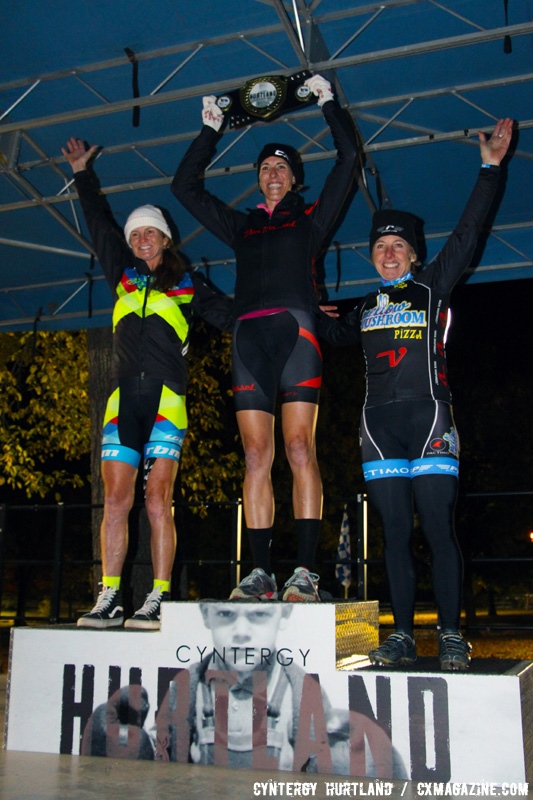 Another shot of the C2 Elite Women's podium at the 2016 Cyntergy Hurtland event. © Cyntergy Hurtland