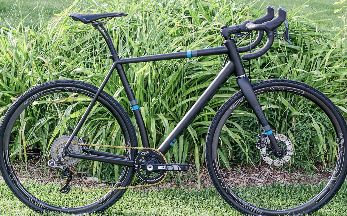Kelson Bikes is based out of Rexburg, Idaho and the company specializes in custom, handmade carbon, steel and titanium bikes.