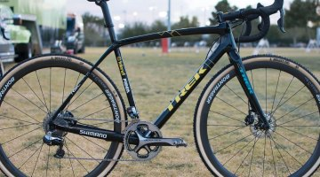 Quinten Hermans' Trek Boone cyclocross bike as seen at CrossVegas. © C. Lee / Cyclocross Magazine