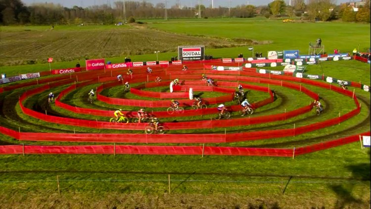 The Spiral of Doom made its way to Europe for Jaarmarktcross.