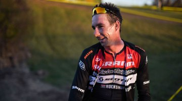 Former National Champion Todd Wells gave cyclocross another go, finishing fifth. 2016 Supercross cyclocross race. © Chris McIntosh
