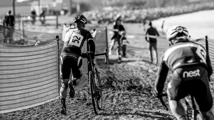 Textures on the beach of San Franciso Bay - 2016 CycloCross at Coyote Point. © Jeff Vander Stucken / Cyclocross Magazine