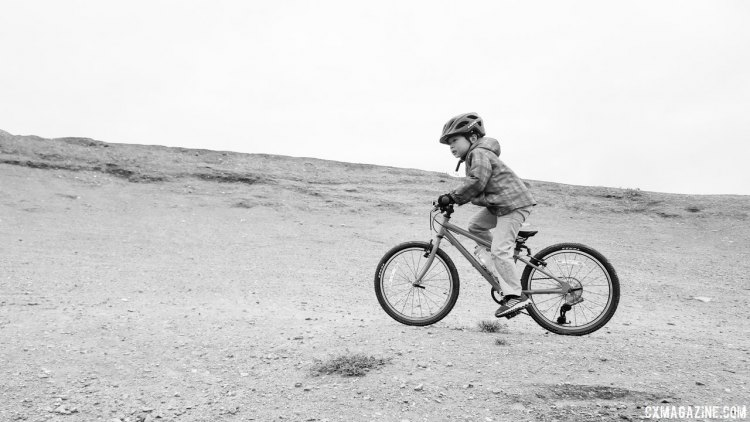 "An Islabikes Beinn 20"" Small has been a great road and offroad bike for our six-year-old tester. © Cyclocross Magazine"