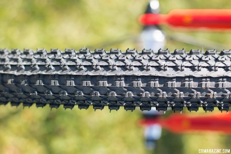 "The Kenda Small Block 8 tires are ideal for most cyclocross courses and conditions, and far better than most kid's bike tires for off-road use. Islabikes Beinn 20"" Small kid's bike. © Cyclocross Magazine"