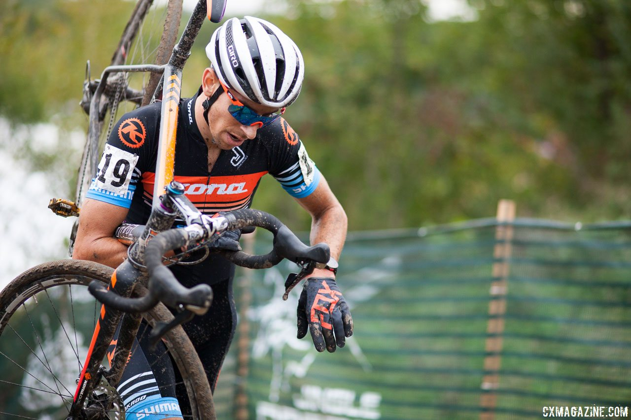 440c2b76e Kerry Werner (Kona) is on pace for his best-ever cyclocross season of