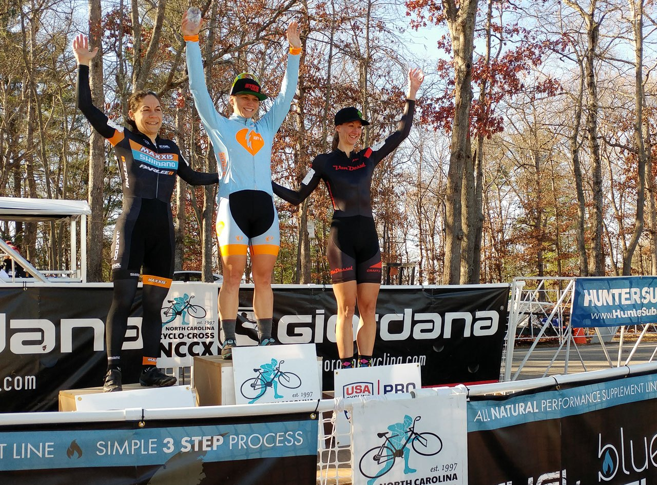 Fahringer got her first career UCI win in North Carolina in 2016. 2016 NCGP Day 1.