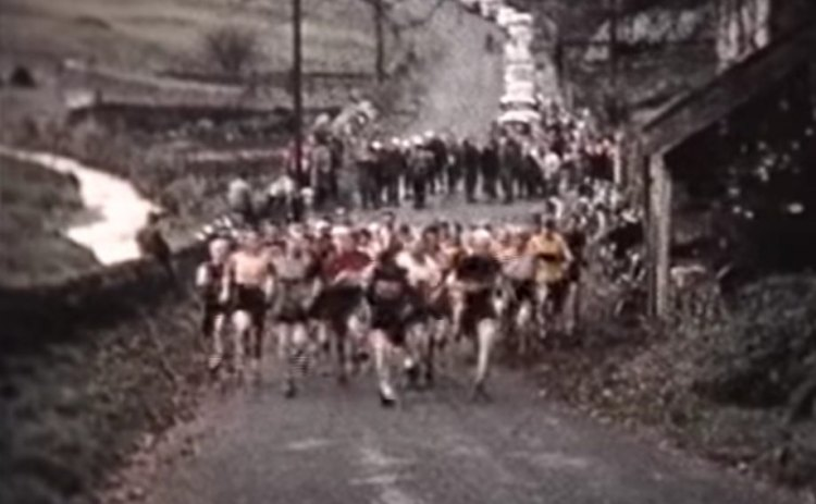 The 1960 SSCXWC for some racers. 1960 Tyneside Vagabonds cyclocross race.
