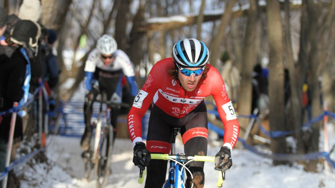 2017 Cyclocross National Championships, Elite Men. D. Mable/ Cyclocross Magazine