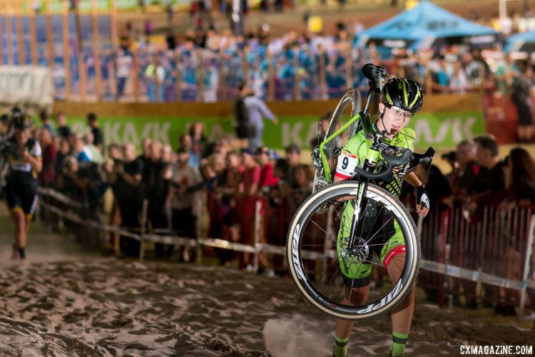 Emma White at CrossVegas 2016. © A. Yee / Cyclocross Magazine