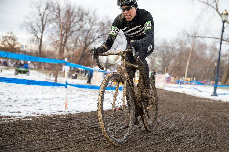 Jeff Curtes racing the Masters 45-49 race, and then raced around the course with his camera to capture the action in Hartford. photo: courtesy
