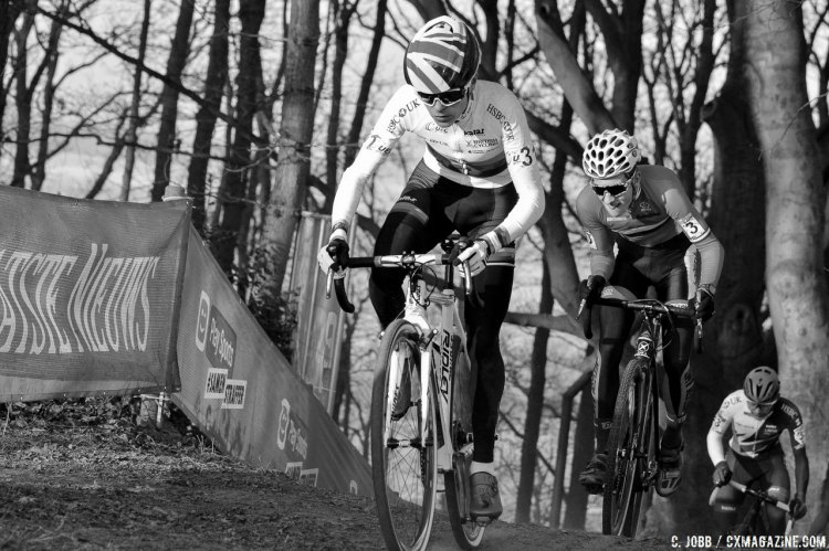 Thomas Pidcock has had a great season, winning the UEC Continental Championships and World Cups and heads into Worlds as a favorite. 2017 Hoogerheide UCI Cyclocross World Cup. Junior Men. © C. Jobb / Cyclocross Magazine