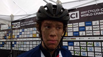 Spencer Petrov, 2017 Cyclocross World Championships U23 Men, 18th