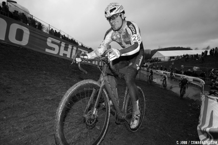 Simon Zahner had a strong ride to finish ninth in the Elite Men. 2017 UCI Cyclocross World Championships, Bieles, Luxembourg. © C. Jobb / Cyclocross Magazine