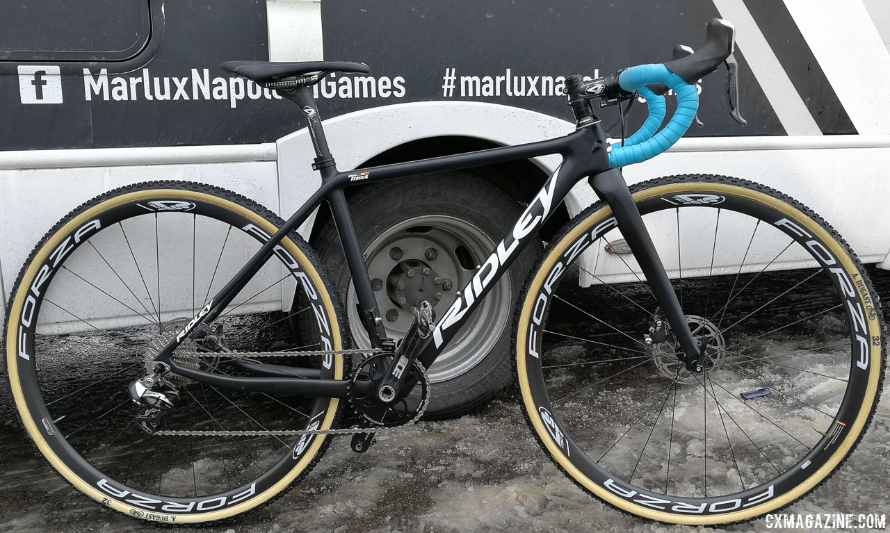 Pro Bike Profile Alicia Franck S Ridley X Night Cyclocross Bike