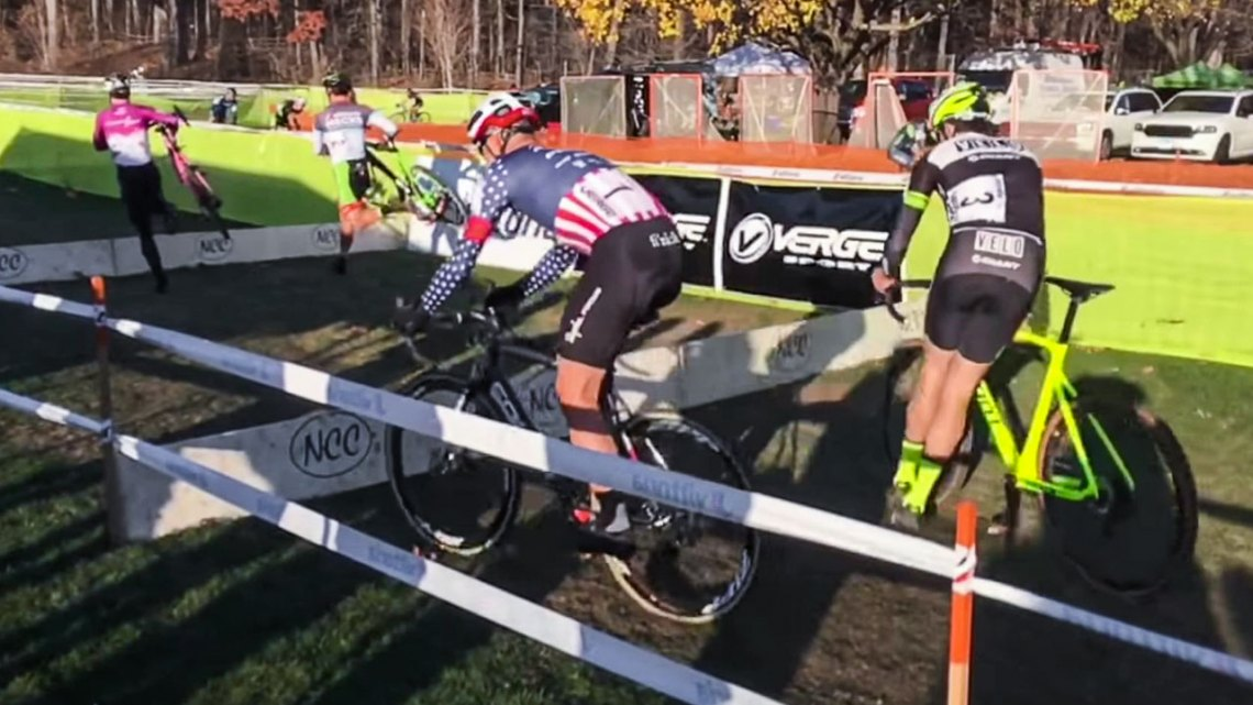 Barriers at 2016 Cycle-Smart International - video by nubetre