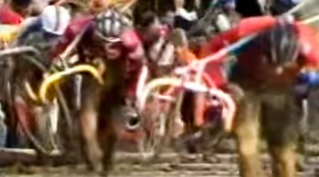 1988 Cyclocross World Championships video from Hägendorf, Switzerland with Pascal Richard