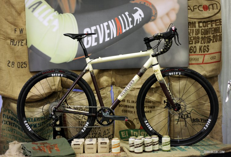 A Squid, Stumptown, Gevenalle collaboration, celebrating the finest beverage in the land. © C. Fegan-Kim Cyclocross Magazine