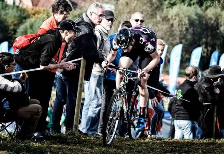 Koppenbergcross on his way to victory. Belgian CX Project. © Alan Draffan