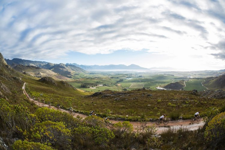 Adventure awaits participants in the 2017 Absa Cape Epic mountain bike stage race. photo: courtesy