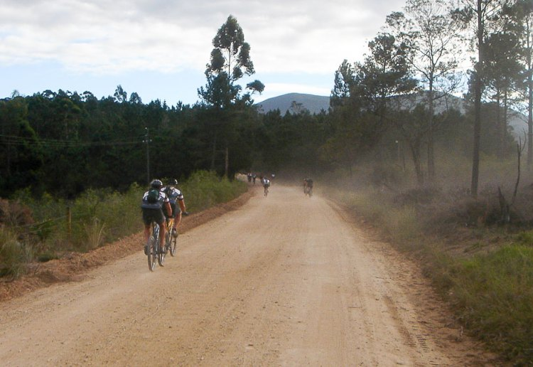 The Cape Epic offers miles and miles of dirt, and even the prologue lasts over an hour. photo: Cris Bloomfield