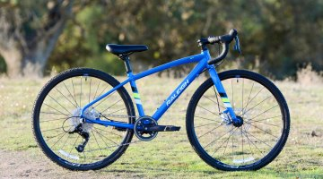 "Raleigh RX24 24"" wheel kid's cyclocross bike can be the intro to a life-long sport. © P. Merridew / Cyclocross Magazine"